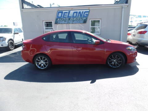 2013 Dodge Dart for sale at DeLong Auto Group in Tipton IN