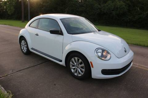 2016 Volkswagen Beetle for sale at Clear Lake Auto World in League City TX