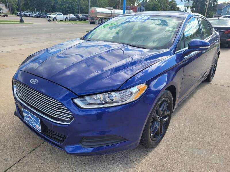 2016 Ford Fusion for sale at Liberty Car Company in Waterloo IA