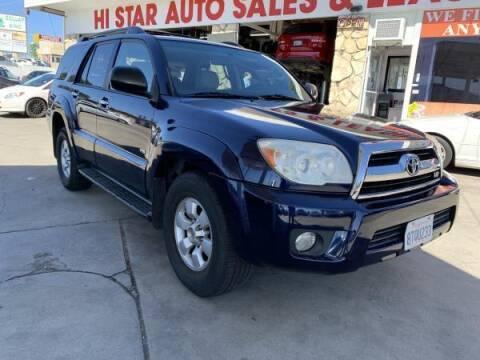 2006 Toyota 4Runner for sale at CAR CITY SALES in La Crescenta CA