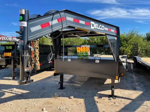 """2022 DELCO  - Car Hauler 102"""" X 32'- for sale at LJD Sales in Lampasas TX"""