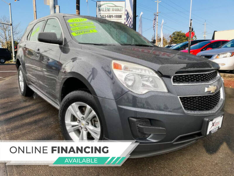 2010 Chevrolet Equinox for sale at Salem Auto Market in Salem OR