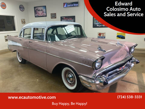 1957 Chevrolet 210 for sale at Edward Colosimo Auto Sales and Service in Evans City PA