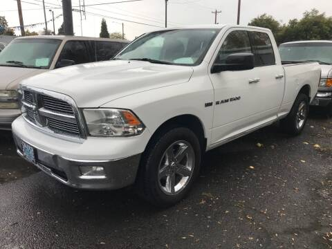 2012 RAM Ram Pickup 1500 for sale at Chuck Wise Motors in Portland OR