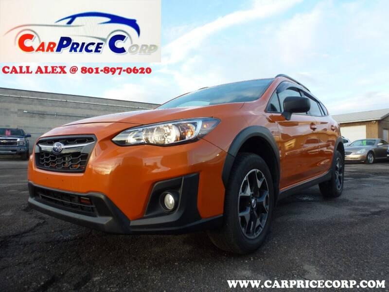 2018 Subaru Crosstrek for sale at CarPrice Corp in Murray UT