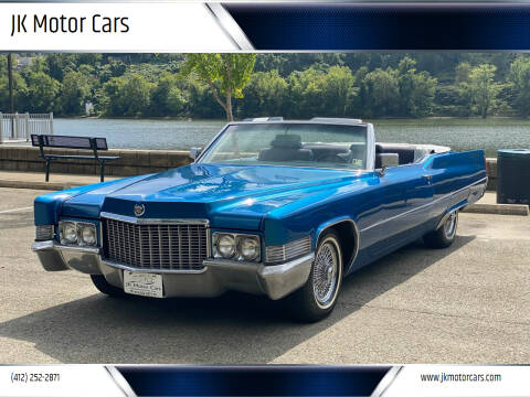 1970 Cadillac DeVille for sale at JK Motor Cars in Pittsburgh PA
