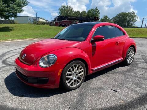 2013 Volkswagen Beetle for sale at El Camino Auto Sales Gainesville in Gainesville GA