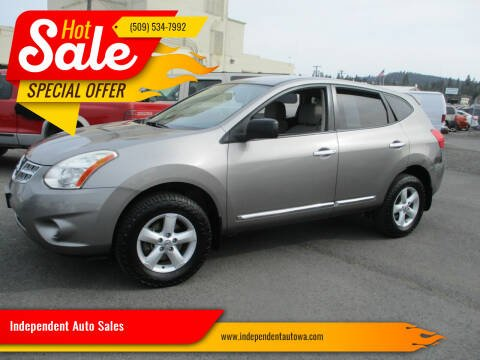 2012 Nissan Rogue for sale at Independent Auto Sales in Spokane Valley WA