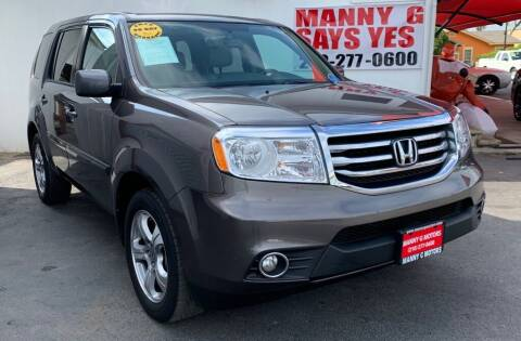 2014 Honda Pilot for sale at Manny G Motors in San Antonio TX