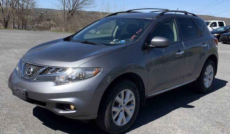 2013 Nissan Murano for sale at Father & Sons Auto Sales in Leeds NY