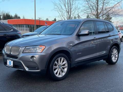 2013 BMW X3 for sale at GO AUTO BROKERS in Bellevue WA