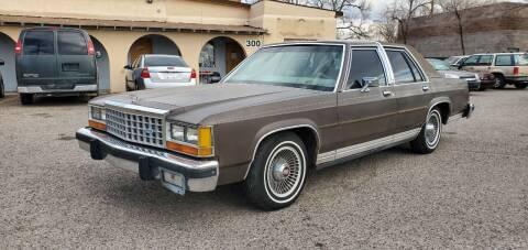 1987 Ford LTD Crown Victoria for sale at One Community Auto LLC in Albuquerque NM
