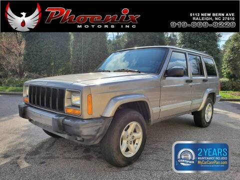 2001 Jeep Cherokee for sale at Phoenix Motors Inc in Raleigh NC