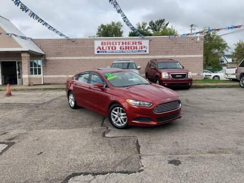 2013 Ford Fusion for sale at Brothers Auto Group in Youngstown OH