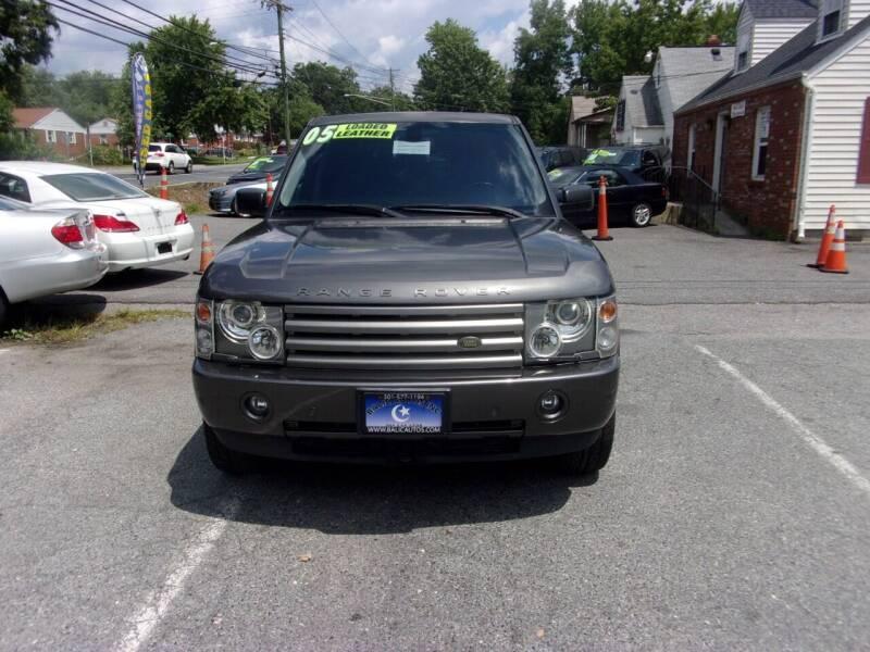 2005 Land Rover Range Rover for sale at Balic Autos Inc in Lanham MD