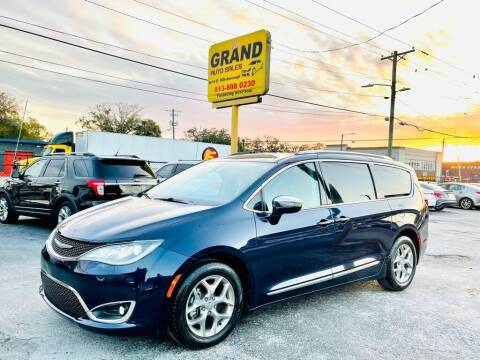 2018 Chrysler Pacifica for sale at Grand Auto Sales in Tampa FL