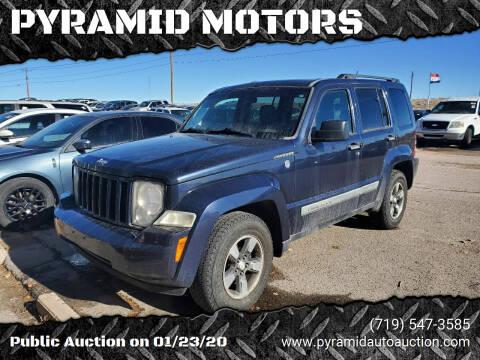 2008 Jeep Liberty for sale at PYRAMID MOTORS - Pueblo Lot in Pueblo CO