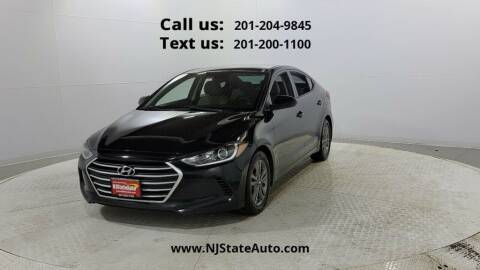 2018 Hyundai Elantra for sale at NJ State Auto Used Cars in Jersey City NJ