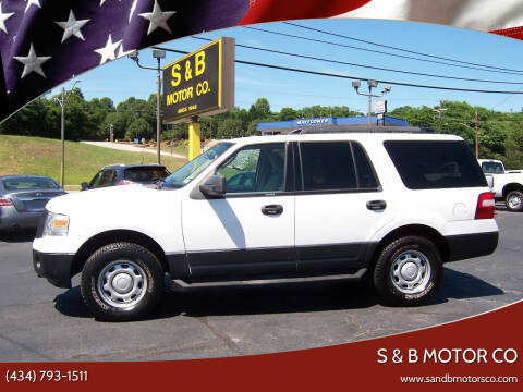 2011 Ford Expedition for sale at S & B MOTOR CO in Danville VA