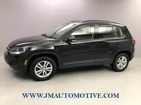 2016 Volkswagen Tiguan for sale at J & M Automotive in Naugatuck CT