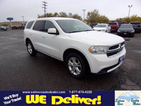 2012 Dodge Durango for sale at QUALITY MOTORS in Salmon ID