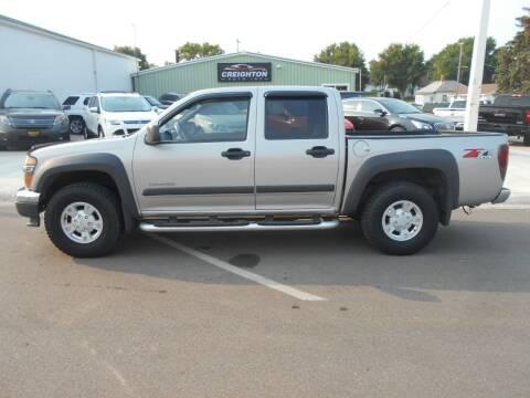 2004 Chevrolet Colorado for sale at Creighton Auto & Body Shop in Creighton NE