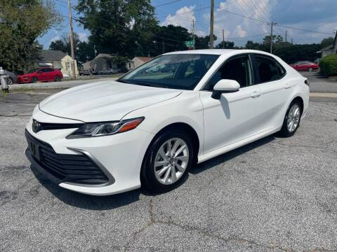 2021 Toyota Camry for sale at RC Auto Brokers, LLC in Marietta GA