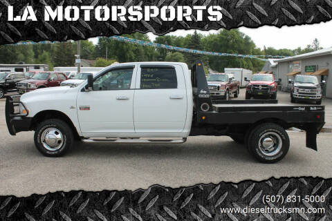 2012 RAM Ram Chassis 3500 for sale at LA MOTORSPORTS in Windom MN