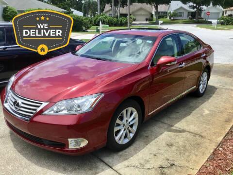 2012 Lexus ES 350 for sale at Limo World Inc. in Seminole FL