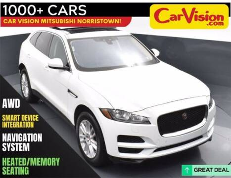 2020 Jaguar F-PACE for sale at Car Vision Buying Center in Norristown PA