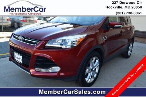 2016 Ford Escape for sale at MemberCar in Rockville MD