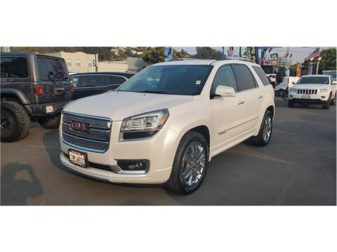 2016 GMC Acadia for sale at AutoDeals in Daly City CA