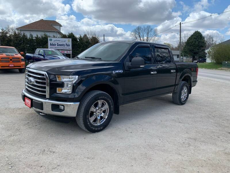 2015 Ford F-150 for sale at GREENFIELD AUTO SALES in Greenfield IA