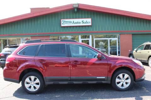 2011 Subaru Outback for sale at Gentry Auto Sales in Portage MI