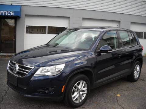 2011 Volkswagen Tiguan for sale at Best Wheels Imports in Johnston RI