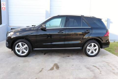 2017 Mercedes-Benz GLE for sale at PERFORMANCE AUTO WHOLESALERS in Miami FL