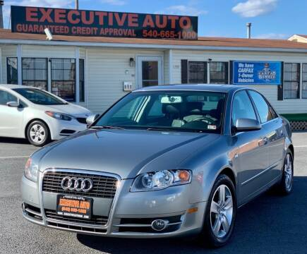 2006 Audi A4 for sale at Executive Auto in Winchester VA