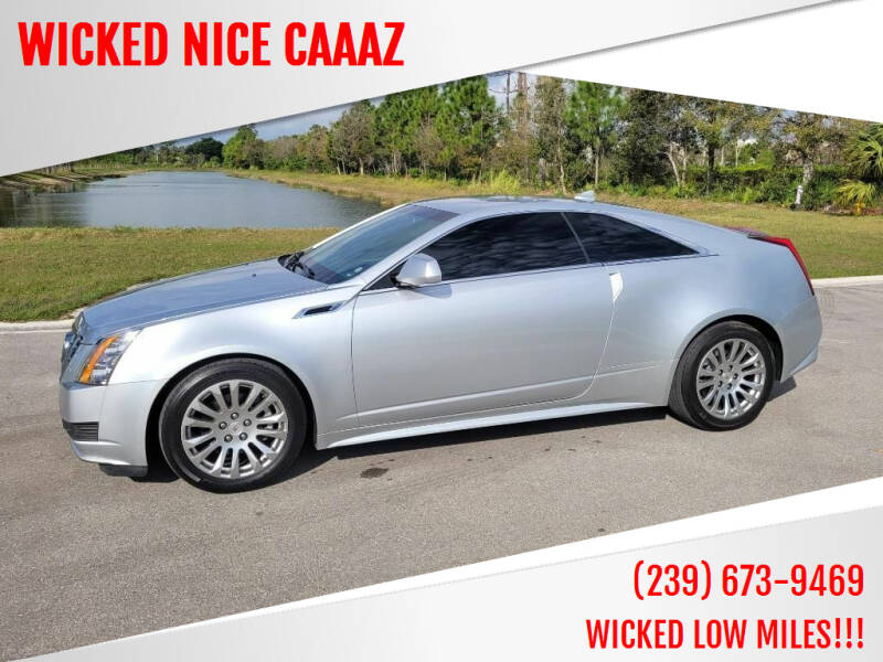 2014 Cadillac CTS for sale at WICKED NICE CAAAZ in Cape Coral FL