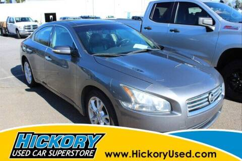 2014 Nissan Maxima for sale at Hickory Used Car Superstore in Hickory NC