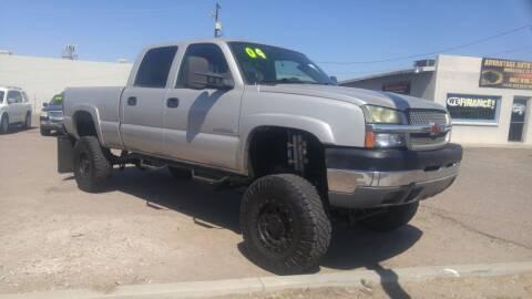 2004 Chevrolet Silverado 2500HD for sale at Advantage Auto Motorsports in Phoenix AZ