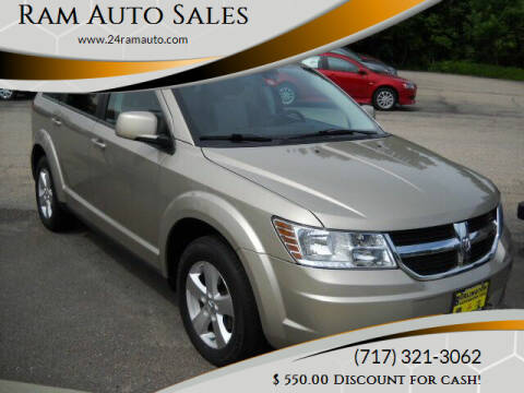 2009 Dodge Journey for sale at Ram Auto Sales in Gettysburg PA