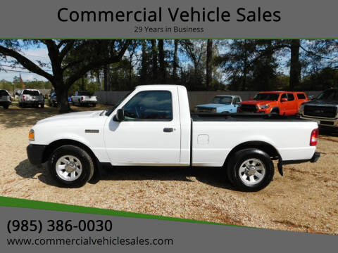 2011 Ford Ranger for sale at Commercial Vehicle Sales in Ponchatoula LA