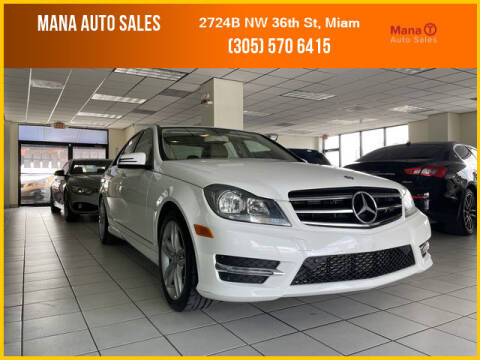 2014 Mercedes-Benz C-Class for sale at MANA AUTO SALES in Miami FL