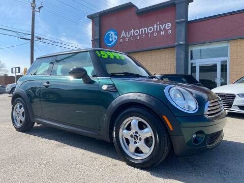 2010 MINI Cooper for sale at Automotive Solutions in Louisville KY
