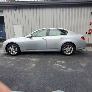 2012 Infiniti G37 Sedan for sale at Stellar Motor Group in Hudson NH
