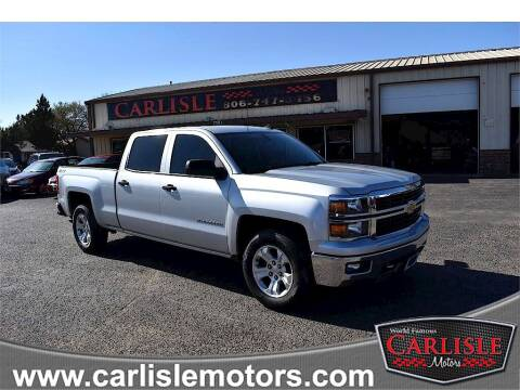2014 Chevrolet Silverado 1500 for sale at Carlisle Motors in Lubbock TX