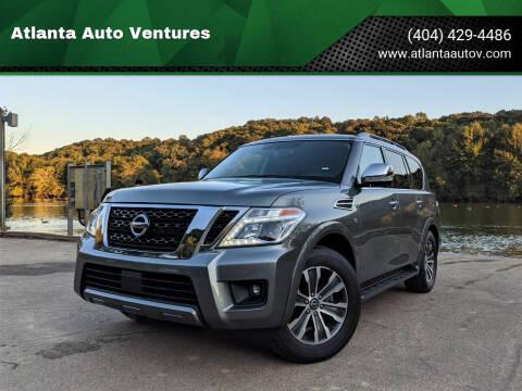 2020 Nissan Armada for sale at Atlanta Auto Ventures in Roswell GA