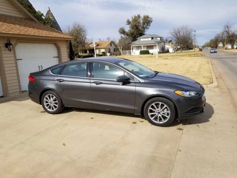 2017 Ford Fusion for sale at Eastern Motors in Altus OK