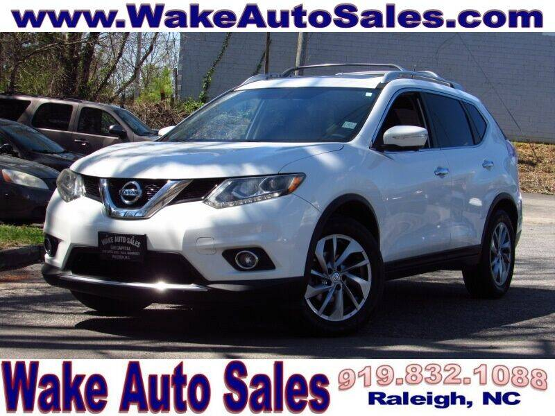 2014 Nissan Rogue for sale at Wake Auto Sales Inc in Raleigh NC