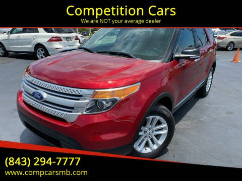 2015 Ford Explorer for sale at Competition Cars in Myrtle Beach SC